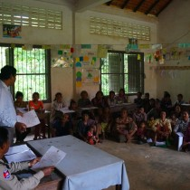 Community Legal Education Session in Pusat