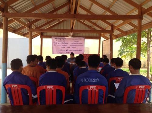 Meeting in Kampongthom Provincial Prison