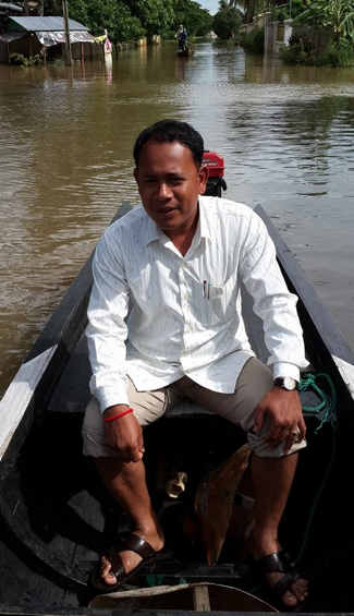 IBJ Lawyer Mao Sari also from the Ratanakiri DRC