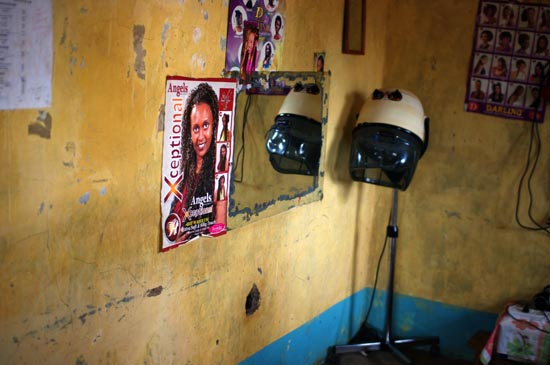 Inside the GK Prison Saloon