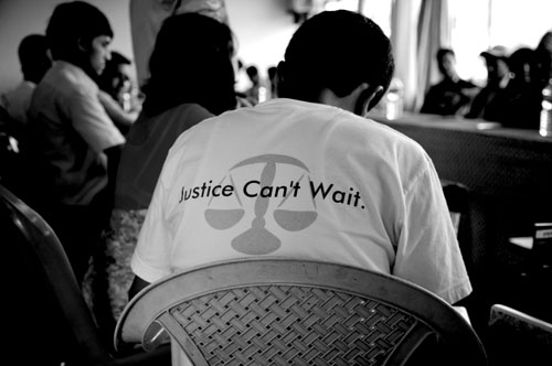 Justice Can't Wait
