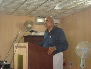 Kylasnath Pillai Speaking at Mahe