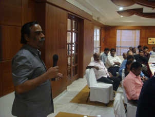 Hon'ble Judge K. Uthirapathy speaks at Coimbatore Conference