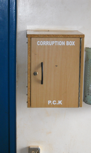 Corruption Box