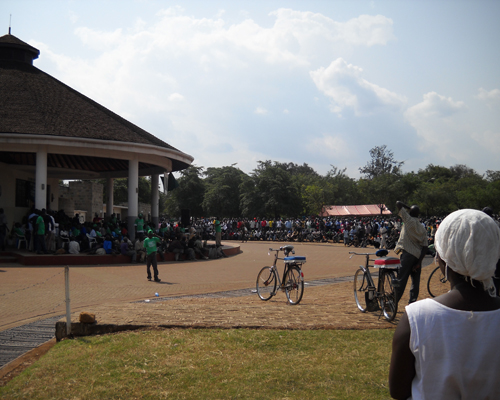 Rally in Kisumu
