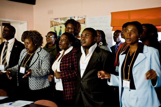 Zimbabwe defense lawyers sing Woyaya.