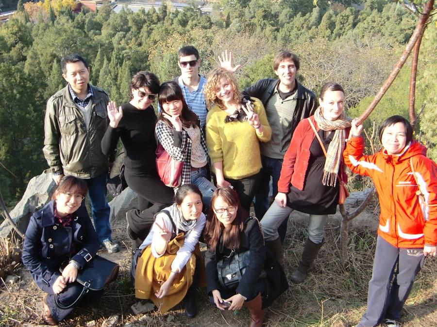 Team Building at Beijing's Jingshan Park