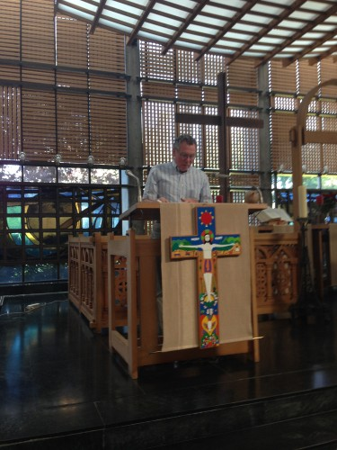 Reverend John Beach, Rector of Emmanuel Church in Geneva