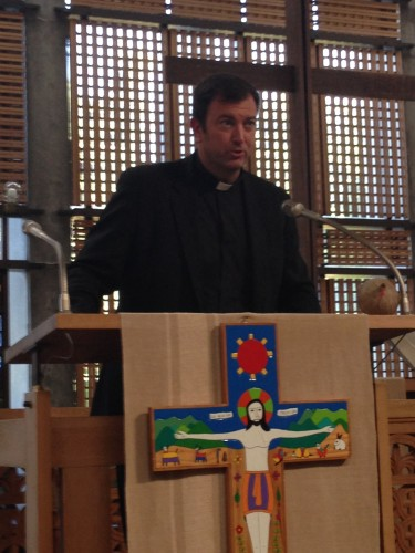 Reverend  Richard Gyhra representing the Holy See (Vatican) Embassy