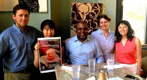 International Program Director Sanjeewa Liyanage with former IBJ staff in Washington DC, USA