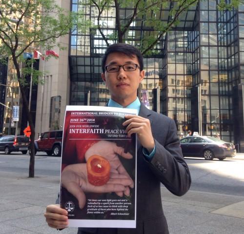 Former IBJ Staff David Zhou in Toronto, Canada