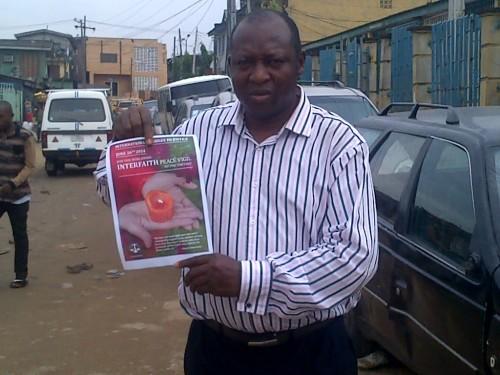 IBJ JusticeMakers Fellow, Patrick Dunkwu in Lagos, Nigeria