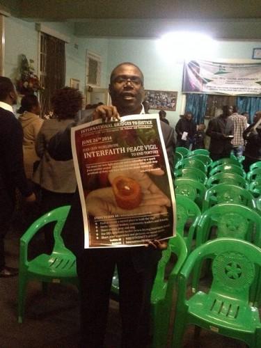 Zimbabwe's Interfaith Peace Vigil held on June 26th