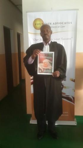 John Bosco Bugingo, IBJ Rwanda Fellow in Kigali