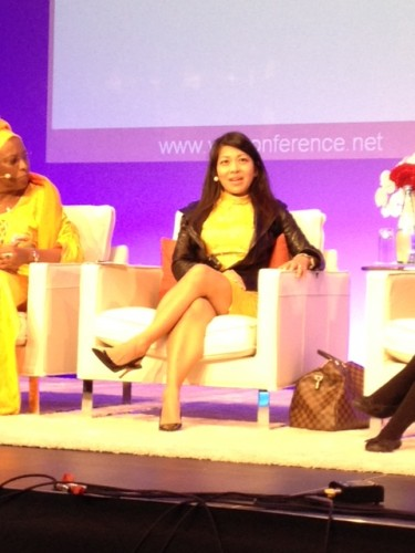 Karen Tse at the Global WINConference in Berlin, Germany