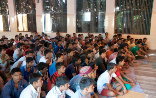 Young Undertrial Prisoners Participating in the Awareness Camp