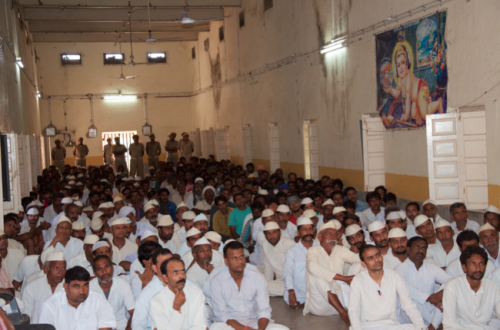 Jail Inmates at the Time of Inaugural Session at Central Prison, Ajmer, Rajasthan