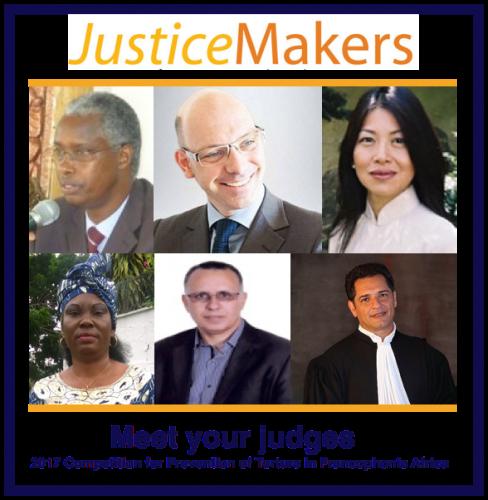 JM judges annoucement