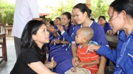 Karen Tse, in Kandal Prison, Cambodia, in April 2012.