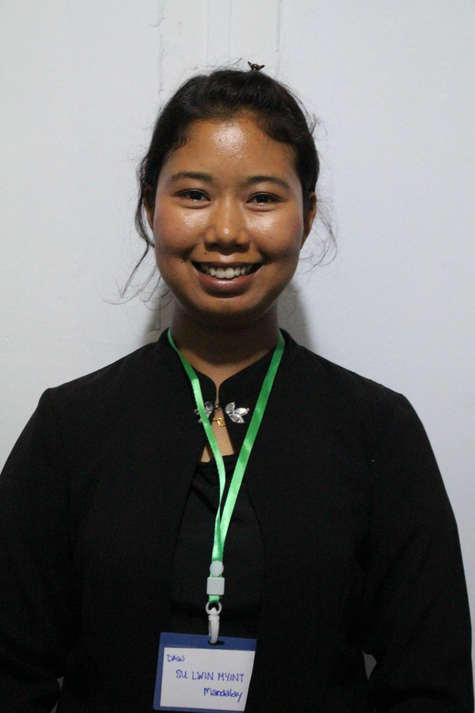 Sue Lwyn Myint, Mandalay Paralegal