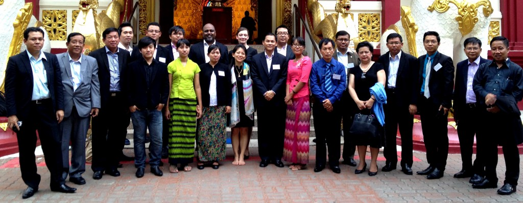 Participants of the Myanmar Legal Aid Training