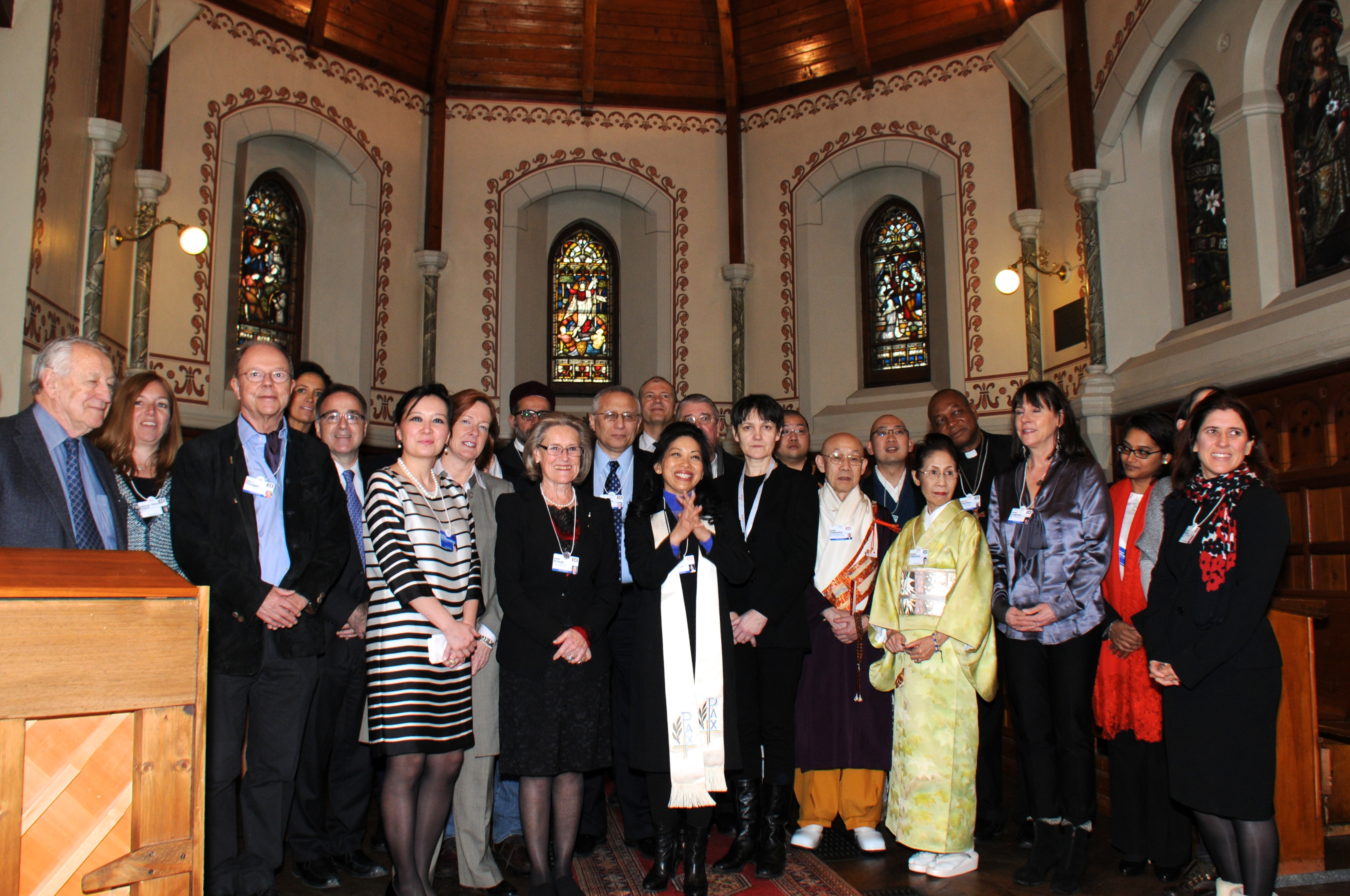 Gathering of Religious Leaders with Hilde Schwab and Karen Tse