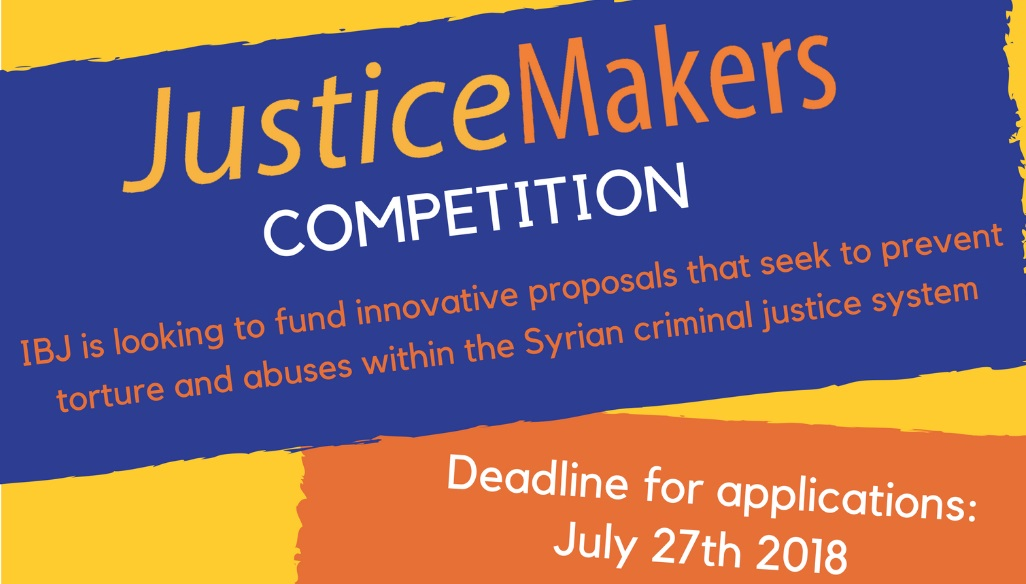 Press Release: 2018 JusticeMakers in Syria