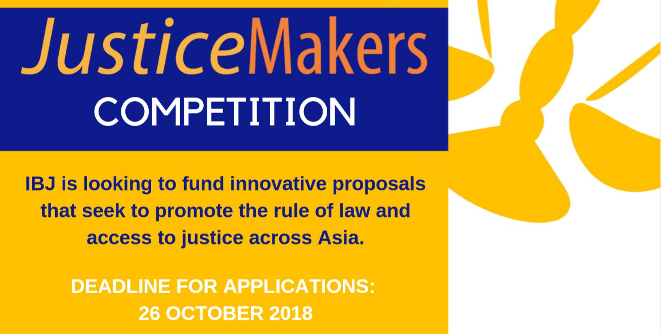 Press Release: 2018 JusticeMakers in Asia