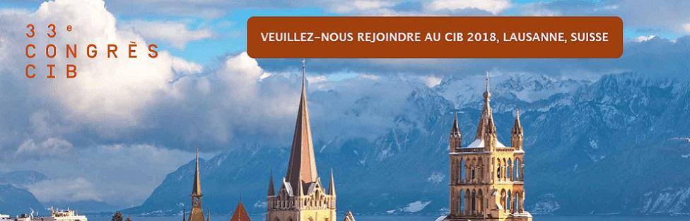 IBJ au CIB 2018, Lausanne