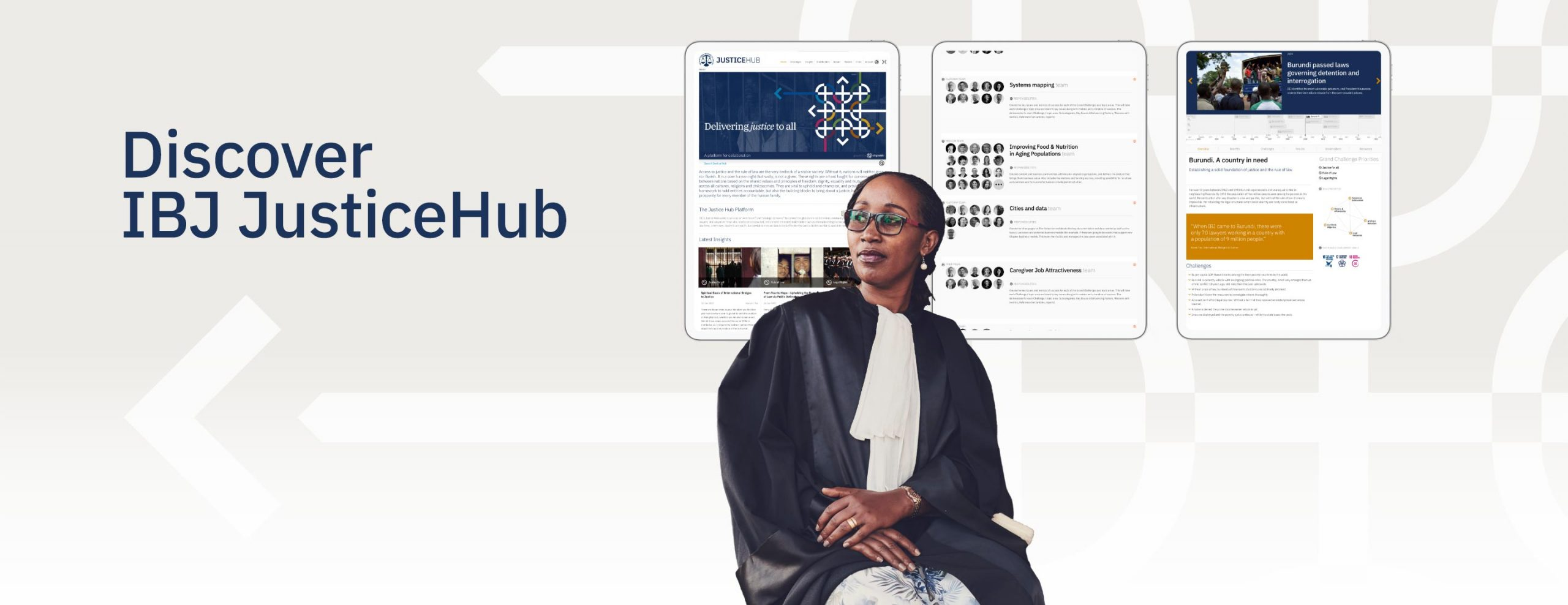 The JusticeHub Platform