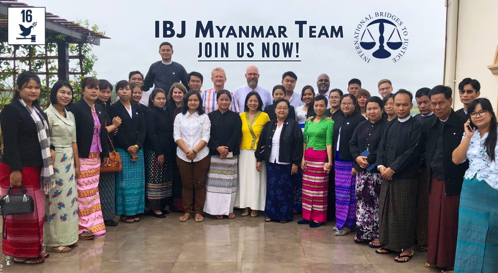 IBJ Myanmar team. Join us Now!